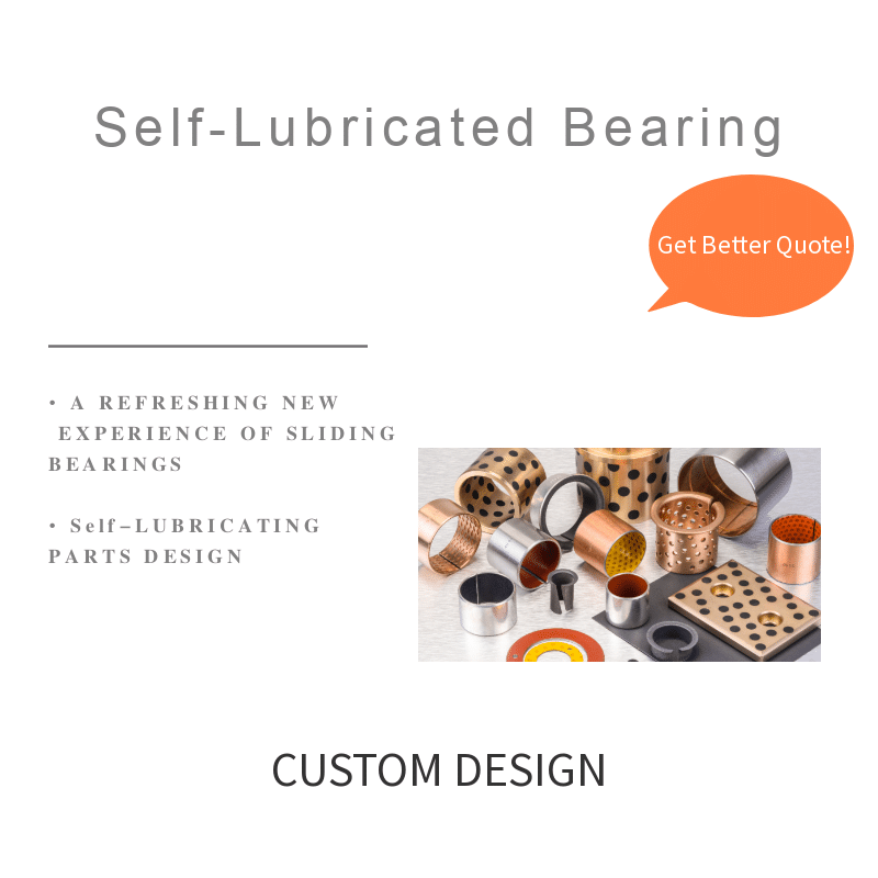 self-lubricating bushing bearings
